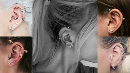 รวมไอเดียใส่ต่างหู สำหรับสาวเจาะหูหลายรูให้ปัง!