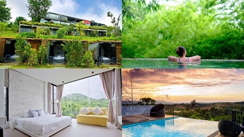 คู่รักอินเลิฟต้องไป!! ที่พักกลางธรรมชาติ มีมุมให้สวีทกันได้ทั้งวัน @Veravian Resort วังน้ำเขียว