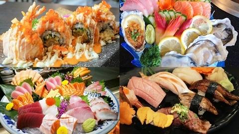 ตามไปถล่มกัน!! 7 ร้านบุฟเฟ่ต์ซูชิ-ซาซิมิ แบบญี่ปุ่นสุโค่ยในราคาแค่หลักร้อย