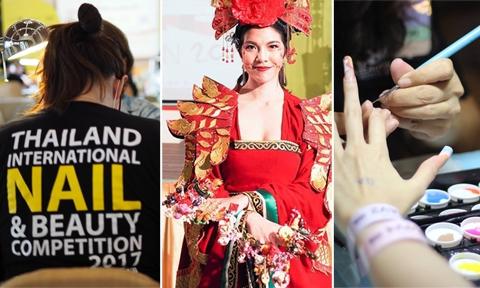 มาชมผลงานไทยแลนด์กันบ้าง !! ในงานแข่งขันเล็บนานาชาติ ที่มีความสวยไม่แพ้ใคร !!