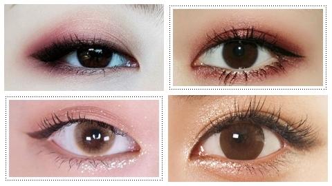 รวมไอเดียแต่งตาให้สวยคู่คอนแทคเลนส์สีน้ำตาลสะกดสายตาหนุ่ม  แอร๊ย!