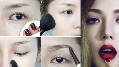 รวมคลิปสอนแต่งหน้าแบบฉบับสาวเอเชีย หลากลุค หลายสไตล์ จาก IG : korean.makeup.tutorial