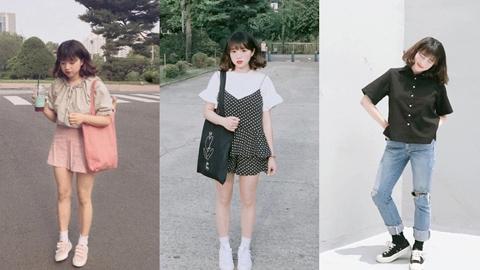 รวมไอเดียแฟชั่นการแต่งตัวสาวไซส์มินิ จาก IG : boyuni_