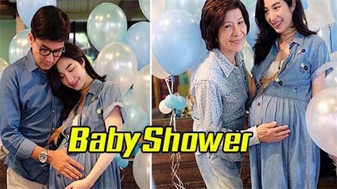 ปาร์ตี้ Baby Shower !! เอ้ก-กัปตัน จัดงานอบอุ่น เตรียมต้อนรับลูกคนแรก