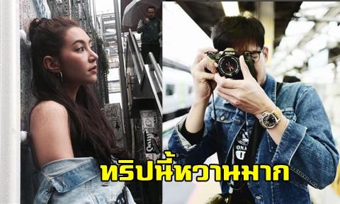 หวานที่โตเกียว ''เวียร์-เบลล่า'' ควงแขนเที่ยวสวีตถึงญี่ปุ่น !!!