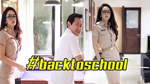 แฮปปี้มาก!! ชมภาพ ปาร์ตี้วันเกิด #backtoschool สาวเป้ย ปานวาด แปลงโฉมเป็นคุณครูสุดแซ่บ