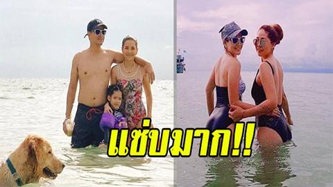 แซ่บมาก!! อ้อม พิยดา โชว์เซ็กซี่ใส่ชุดว่ายน้ำ จนเพื่อนต้องเข้ามาแซวแบบนี้!!