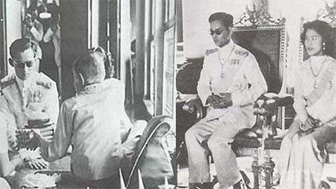 เผยภาพประวัติศาสตร์!! พระราชพิธี ราชาภิเษกสมรม คู่พระบารมี พ่อฟ้าแม่ฟ้าเหนือหัวชาวไทย