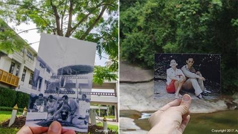 ซึ้งสุดใจ!! ''ที่ที่พ่อไป'' หนุ่ม ตามถ่ายภาพสถานที่ ที่ ''ในหลวง'' เคยเสด็จพระราชดำเนิน