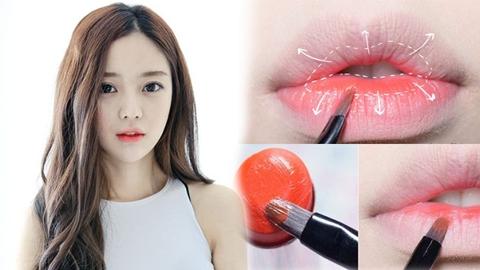 เทคนิคทาปากสวยเซ็กซี่แบบสาวเกาหลี น่าจุ๊บมาก!