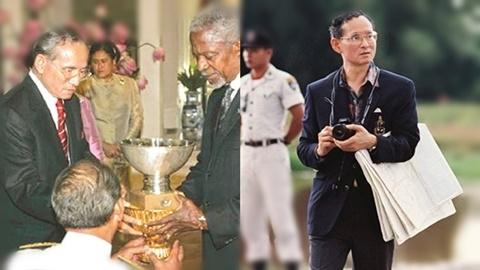 พ่อแห่งไทย ในฐานะ
