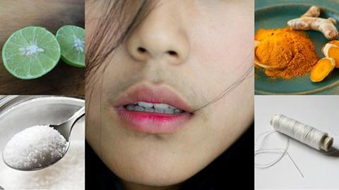 พอกันทีผู้หญิงมีหนวด !! 5 วิธีง่ายๆกำจัดหนวดบนใบหน้าให้หมดไป