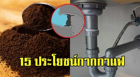 อย่าโยนทิ้ง !!! 15 ประโยชน์ของกากกาแฟ ที่ช่วยงานบ้านของคุณได้มากกว่าที่คิด !!!!