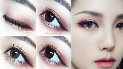 ไอเดียแต่งตา 2 in 1 สวยหวาน โฉบเฉี่ยวในลุคเดียวกัน มีเสน่ห์สุด ๆ