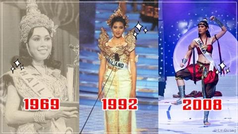 ย้อนรอยชุดประจำชาติไทย ที่ได้รางวัลยอดเยี่ยม ในเวที Miss Universe!!