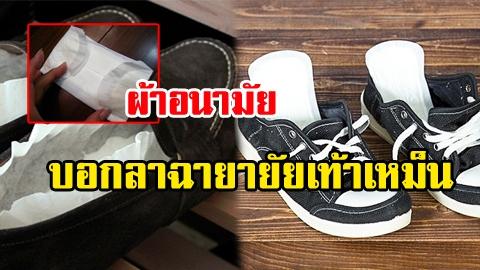 ง่ายกว่านี้มีอีกไหม! 5 มิติใหม่แห่งการกำจัดกลิ่นเท้า ได้ผลชัวร์