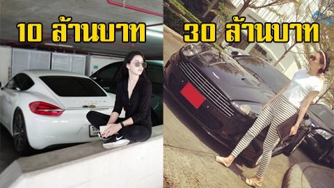 รวมรถหรูของ 4 ซุป'ตาร์สาว บอกเลยแต่ละคันไม่ต่ำกว่า 10 ล้าน!!