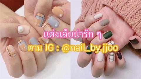รวม 18 ไอเดียแต่งเล็บลายน่ารัก ๆ จาก Instagram @nail_by.jjoo