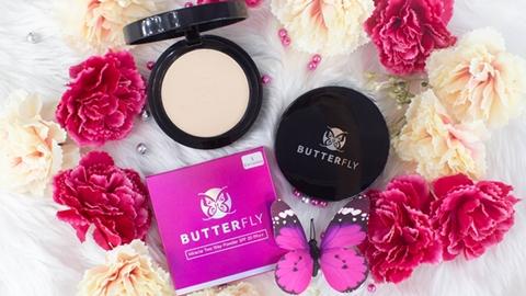 แป้งพัฟ Butterfly แป้งคุณภาพดี ราคาหลักร้อย ที่สาวๆ บอกว่าเลิฟมากที่สุด!!