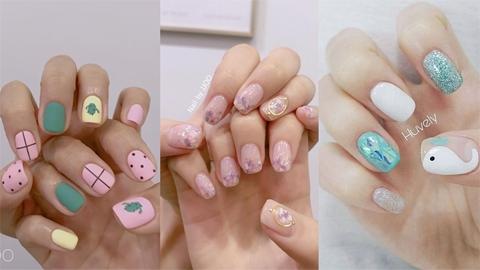 รวมไอเดียเพนต์เล็บน่ารัก ๆ ' Cutie Nails ' ผู้หญิงชอบทำเล็บห้ามพลาด!