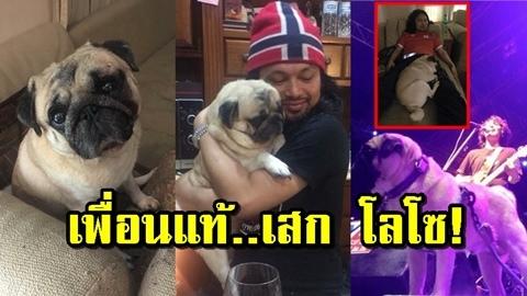 เราและนาย! ''หมาปั๊ก'' เพื่อนแท้ ''เสก โลโซ'' มีกันและกันทุกจังหวะชีวิต!!