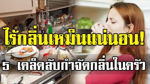 เคล็ดลับ จัดการกลิ่นในครัวให้ห้องครัวสะอาด ไม่เหม็นรบกวนบรรยากาศในบ้าน