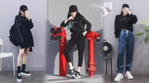 ไอเดียการแต่งตัวแบบ Black Tops ด้วยเสื้อสีดำเพิ่มความเท่ และความคูล