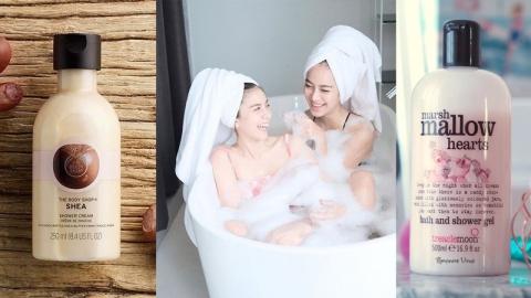 ไอเทมสำหรับคนชอบอะไรที่หอมหวาน ครีมอาบน้ำกลิ่นขนม อาบน้ำไป ก็อยากกินตัวเองไป!