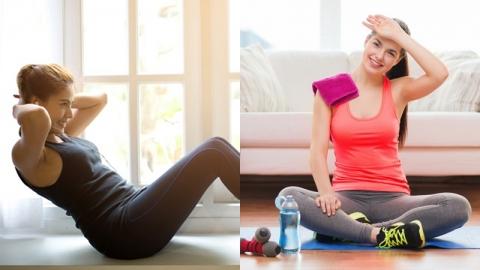 วิธีออกกำลังกายแบบง่ายๆ ที่สาวๆ งานยุ่งสามารถทำเองที่บ้านได้