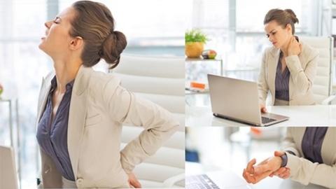 โรคยอดฮิต Office Syndrome กับ 5 วิธีในการนั่งทำงานหน้าคอมที่ถูกต้อง