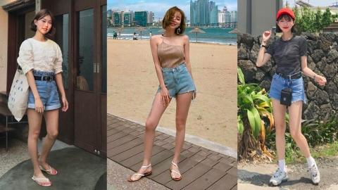 ชิลล์ ๆ หน้าร้อน 20 ลุคมิกซ์แอนด์แมทช์กางเกงขาสั้น สไตล์สาวเกาหลี