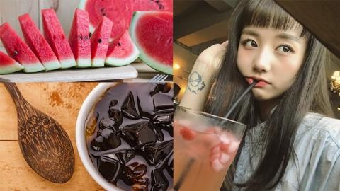 อาหารช่วยคลายร้อน และลดอาการอ่อนเพลียทำให้รู้สึกสดชื่น