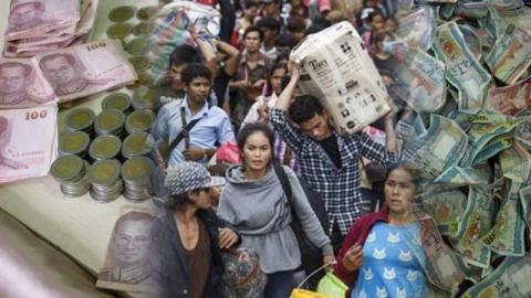 แนวคิดเกี่ยวกับการทำงาน การใช้เงิน และ การออมเงินของคนพม่า
