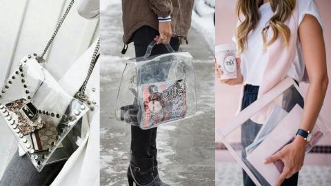กระเป๋าพลาสติกกันน้ำ ดีไซน์สวยเก๋ขั้นสุด