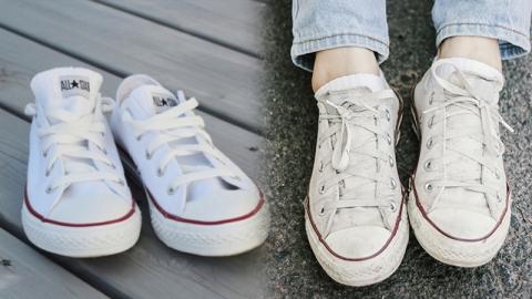 เคล็ดลับซักรองเท้าผ้าใบสีขาว ให้สะอาดได้ไม่ยากอย่างที่คิด