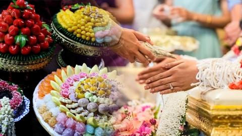 อาหารมงคลในงานแต่งงานเสริมดวงมงคลแด่คู่บ่าวสาว มีอะไรบ้าง