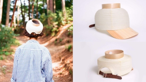 หมวกโคมไฟ ''Chochin Cap'' ไอเท็มที่เหมาะกับฤดูร้อนสุดๆ