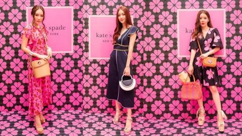 รวมแฟชั่นดาราสาว ในงาน Kate Spade New York ฉลองฤดูกาลซัมเมอร์ 2019