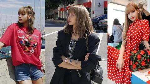 รวมแฟชั่น ลิซ่า BLACKPINK แบบสบาย ๆ ใส่ได้ทุกวันพร้อมราคาเสื้อผ้าที่หลายคนอยากรู้