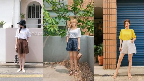 ไอเดียแต่งตัวในวันหยุด ด้วยลุคกางเกงผ้าสไตล์เกาหลี