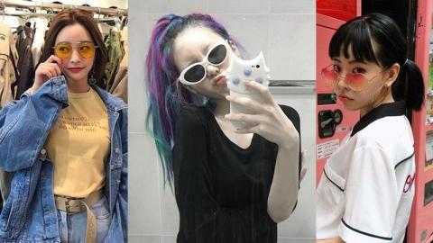 ไอเดียแต่งตัวให้เข้ากับแว่นกันแดดรูปทรงแปลกให้คุณสนุกไปกับการแต่งตัว
