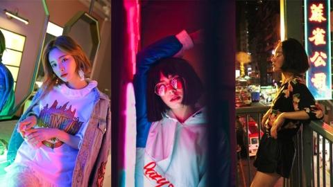 การถ่ายรูปที่น่าค้นหากับเทรนด์แสงสี Neon Light ในแบบไม่ซ้ำใคร