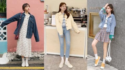 25 สไตล์กับการเลือกใส่แจ็คเก็ต สวยใสได้ลุคแบบสาวเกาหลี