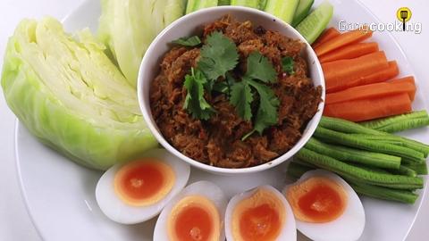 ''น้ำพริกปลากระป๋อง'' สูตรทำง่าย ทานกับผักอะไรก็อร่อย!!