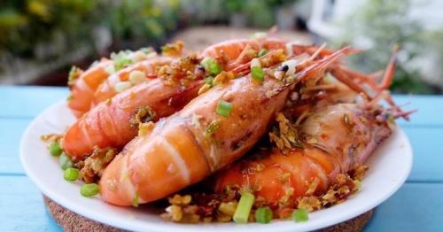 เมนู ''กุ้งคั่วพริกเกลือ'' ทำง่ายและน่าทาน