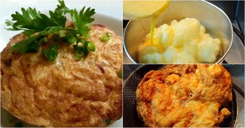 เผยสูตรเด็ด เมนูไข่เจียวทำง่าย อร่อยไม่มีเบื่อ