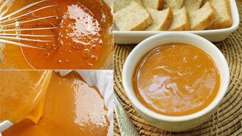 สูตร สังขยาชาไทย จิ้มขนมปัง รสชาติ หอมหวาน อร่อย
