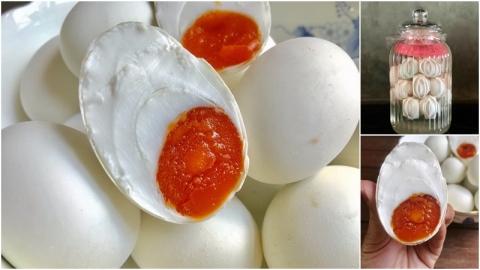 วิธีทำ ไข่เค็ม แบบง่ายๆ ใครๆก็ทำได้