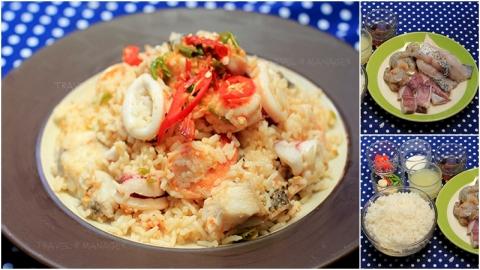 วิธีทำ ''ข้าวผัดพริกเกลือทะเลซีฟู้ด'' อร่อย แซ่บ เด็ดจริง