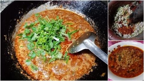 น้ำพริกหมูสับ ทำง่ายๆ แต่อร่อย